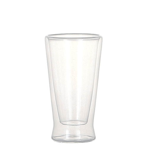 DOUBLE WALL GLASS TUMBLER 280ml