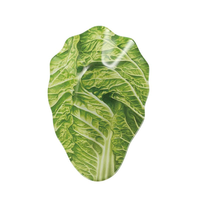 GLASS FARMER PLATE CABBAGE