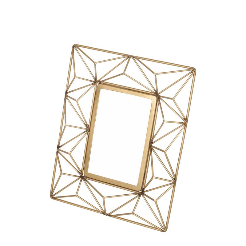 WIRE PHOTO FRAME A GOLD M