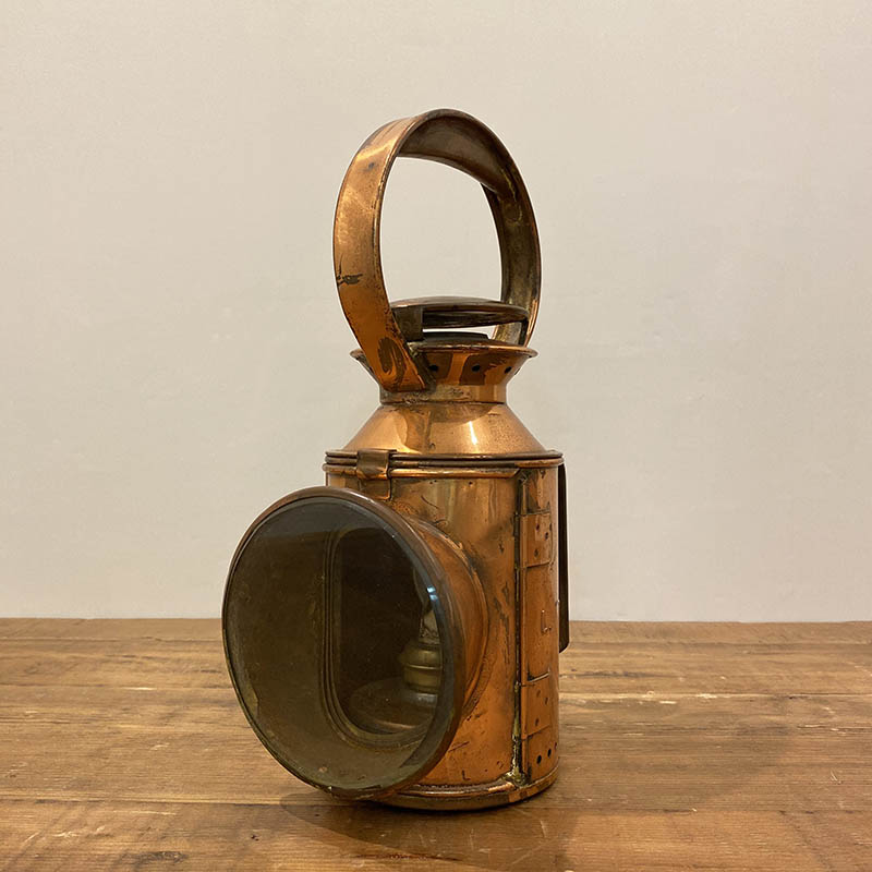 RAILWAY LANTERN COPPER