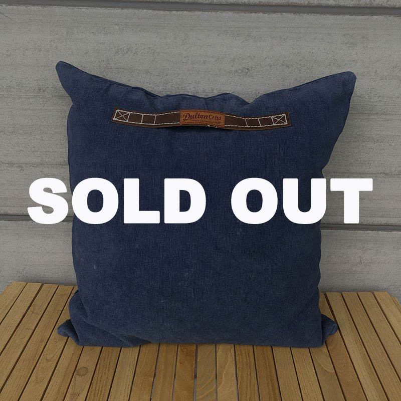 CORDUROY CUSHION 60 NAVY