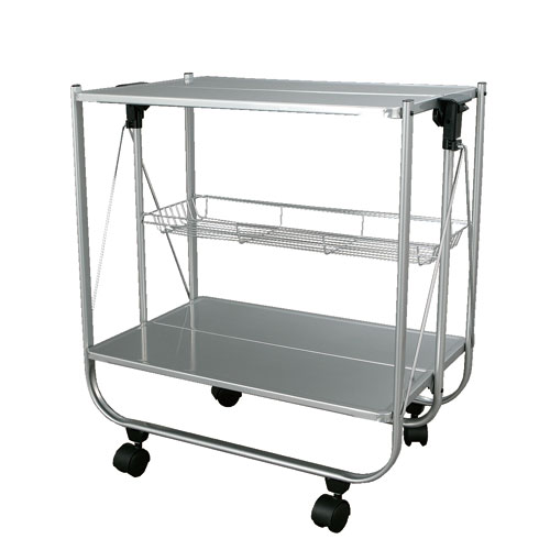 FOLDING TROLLEY CLR