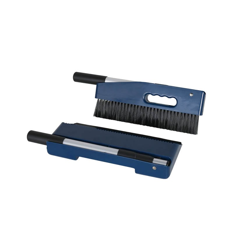 HANDY DUSTPAN BRUSH INK BLUE