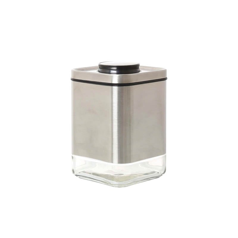 CUBE JAR WITH PRESS LID S