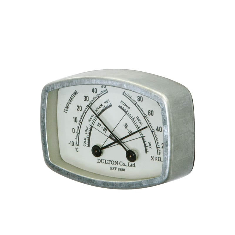 THERMO-HYGROMETER RECTANGLE