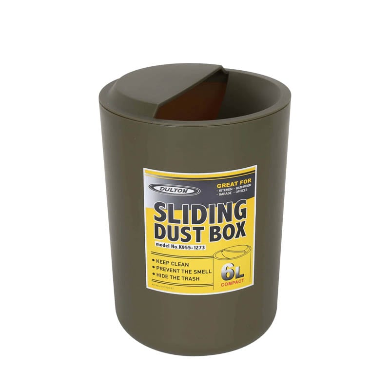 SLIDING DUST BOX OLIVE