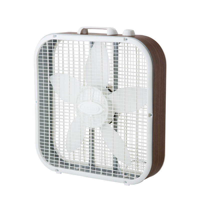 LASKO BOX FAN WALNUT