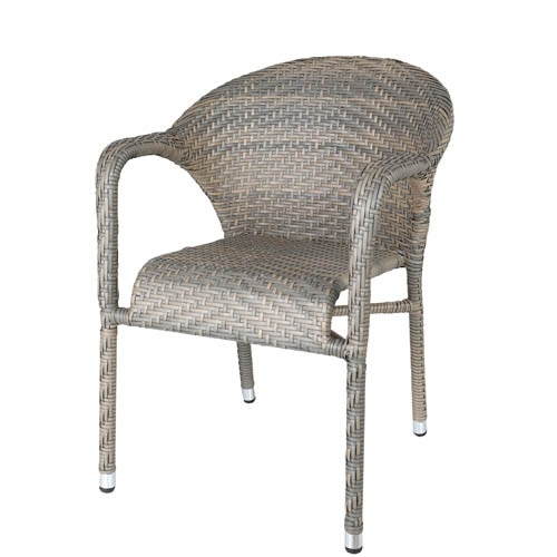 WEAVING CHAIR GRAY