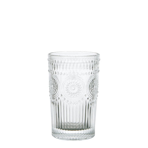 "GLASS TUMBLER L ""MARGUERITE"""