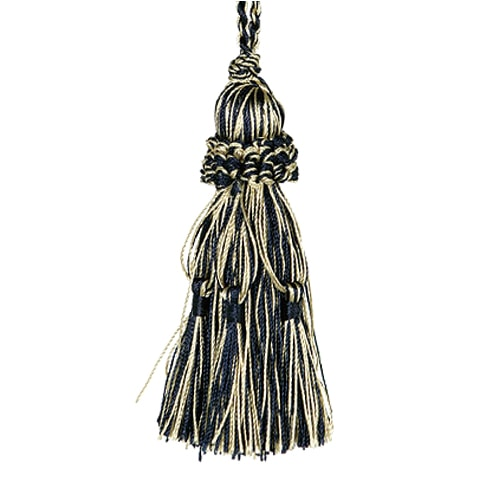 TASSEL  NAVY/GOLD