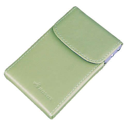 CARD CASE ''Slider'' MINT GREEN