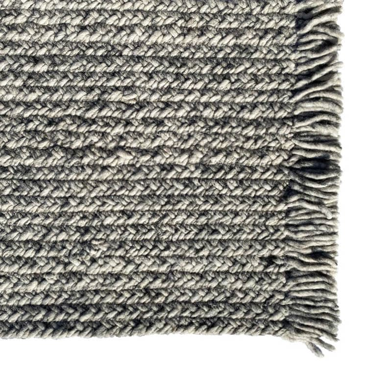 SWEATER WOOL RUG 1400x2000 GRAY