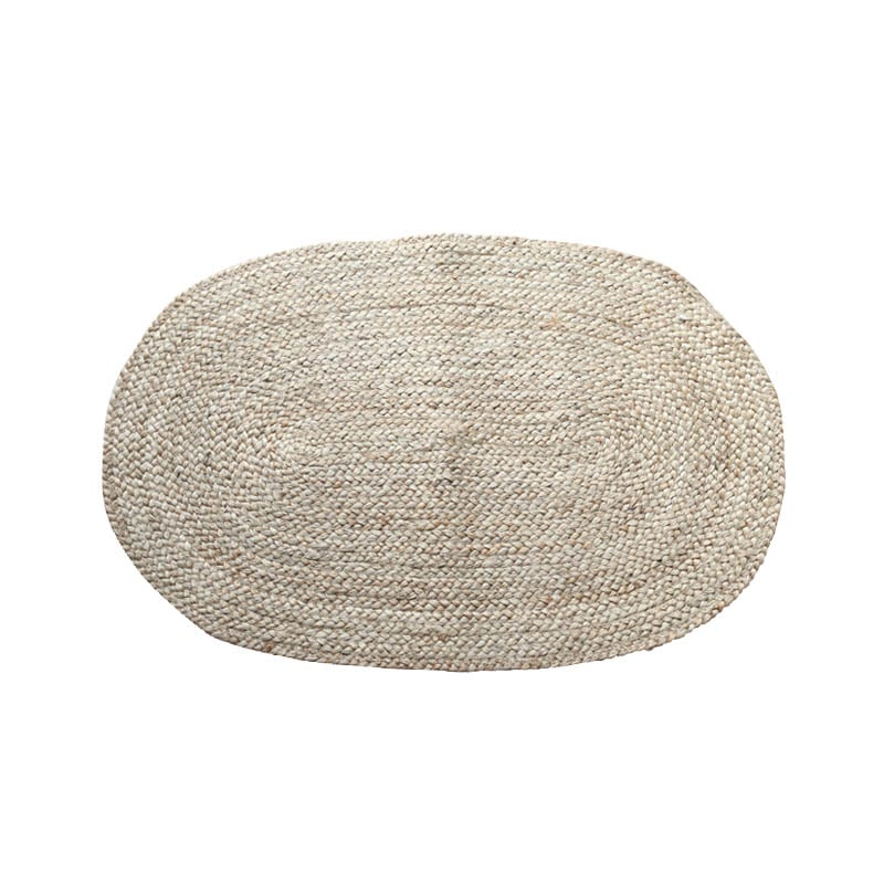 BRAIDED JUTE MAT 600x900 OVAL