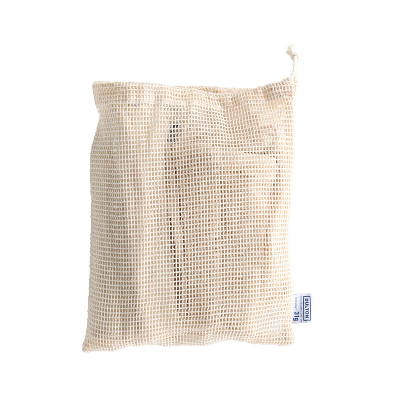 6 COTTON PRODUCE BAGS WITH SHEET