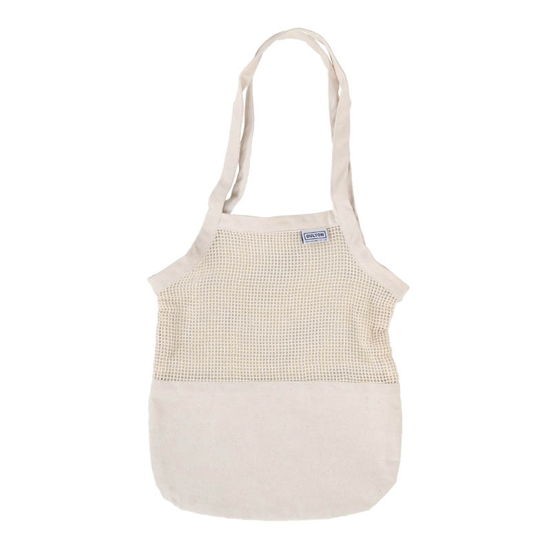COTTON HALF MESH BAG S