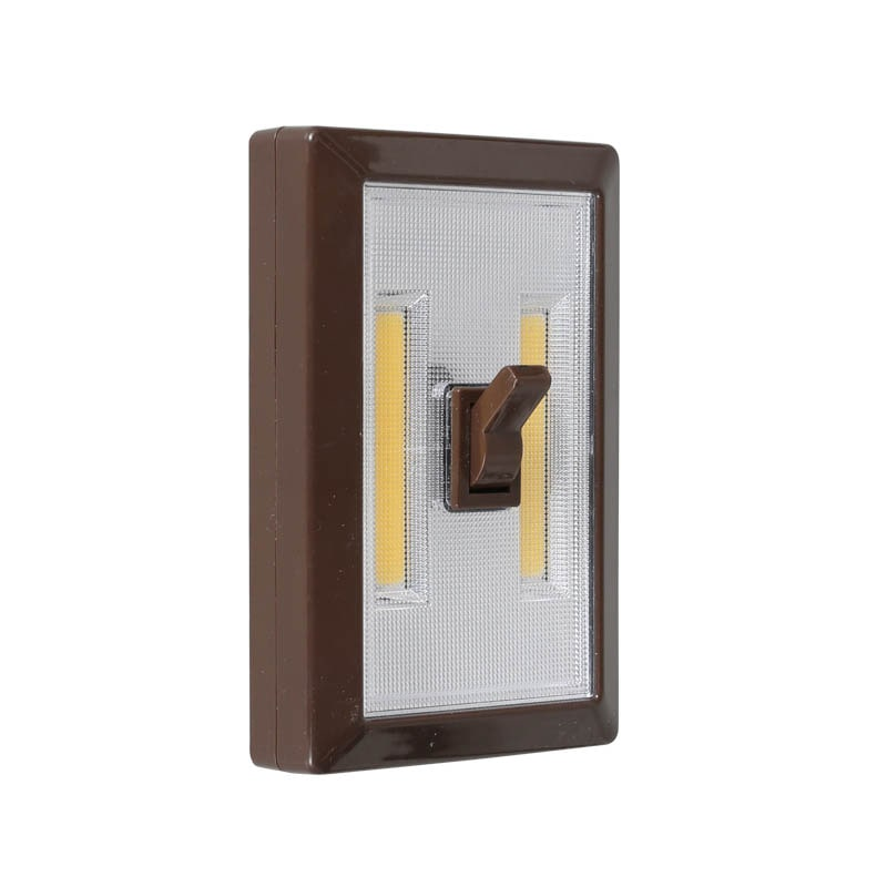 L.E.D TOGGLE SWITCH LIGHT BROWN