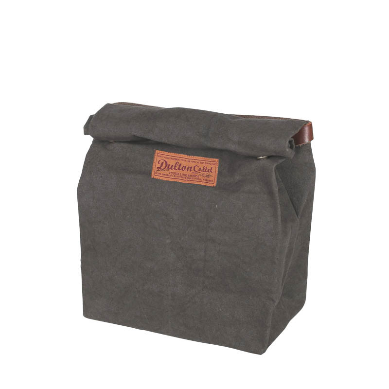 WAX CANVAS LUNCH BAG OLIVE